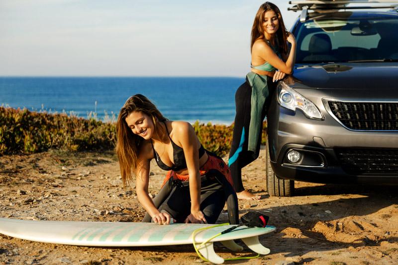 matériel de surf