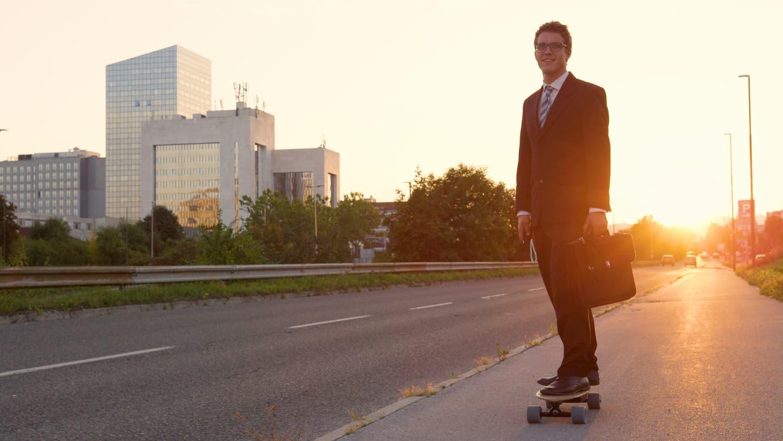 commencer le skate électrique